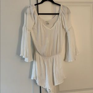 L Space white romper